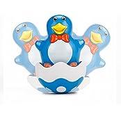 Vidatoy Wobble Penguin Amazing Plastic Roly Poly Toys For Kids Blue