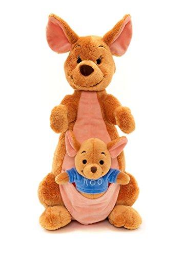 Disney Store Kanga Cangu 36cm peluche Winnie the Pooh canguro Ro Roo mamma