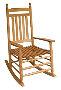 Jack Post KN-22N Knollwood Classic Porch Rocker, Natural by Jack Post