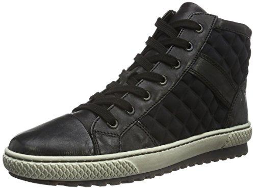 Gabor Jollys - Sneakers alte Donna, Nero (Schwarz (Mel.) 57)), 42.5
