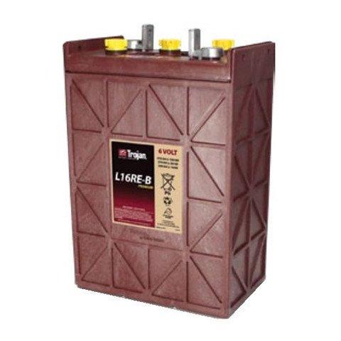 Trojan L16Re-B 370 Ah, 6 Volt Deep Cycle Battery