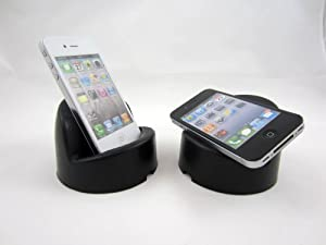 Podprop MADE IN USA Universal Fit Smartphone View Stand / Dock - iPhone 4s, 4, Samsung, HTC, Nokia, Blackberry, Android and Other Portable Devices like iPod and iPod Touch - Black