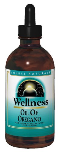 Source Naturals Wellness Oil of Oregano, 1 Ounce