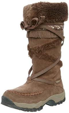 HI-TEC Ladies Zermatt 200 HPi Winter Boots, Dark Chocolate, UK9