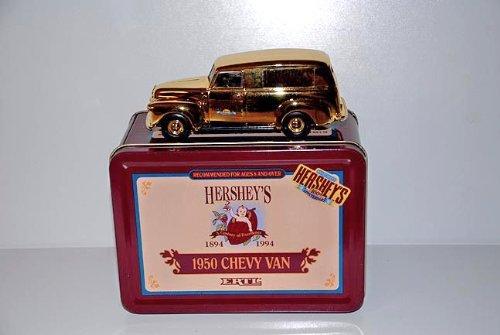 Ertl B313 Hershey's 1950 Chevy Van 1:43 Scale Diecast in Hershey's 100th Anniversary Tin - 1