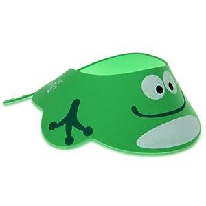 Sombrero de Bebé Baño Ducha Verde Ajustable Protector Nuevo de ptesktmall