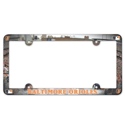 MLB Baltimore Orioles License Plate Frame (2-Pack) at Amazon.com