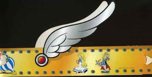 asterix-intermarche-galette-des-rois-1997-couronne-carton-avec-le-menhir