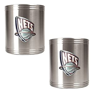 New Jersey Nets Stainless Steel Can Drink Holders by Great American Products