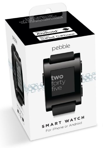 Pebble E-Paper Smart Watch for iPhone and Android