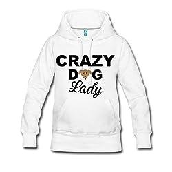 Crazy Dog Lady Women's Premium Hoodie by Spreadshirt