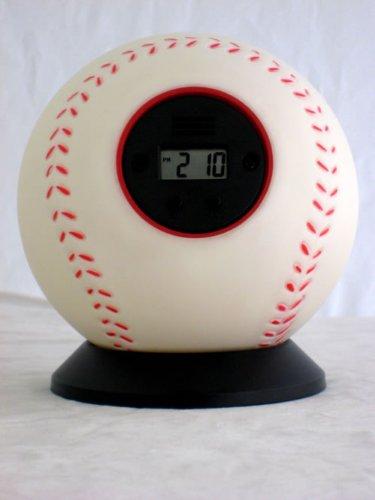 Baseball Bouncing Alarm Clock