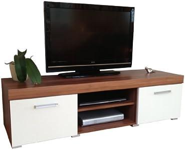 The Best  & Walnut Sydney Large 2 Door TV Cabinet 140cm Unit