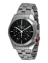 Christian Dior Men's CD084610M001 Chiffre Rouge Chronograph Black Dial Watch
