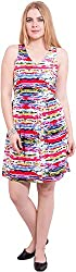 TightHugs Women's A-line Dress (201301_XL, Red, X-Large)
