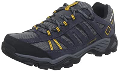 Columbia Men's North Plains Water Proof Trail Shoe,Charcoal/Gallion,7 M US