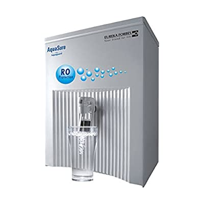 Eureka Forbes AquaSure Elegant 6-Litre RO + UV Water Purifier (White)