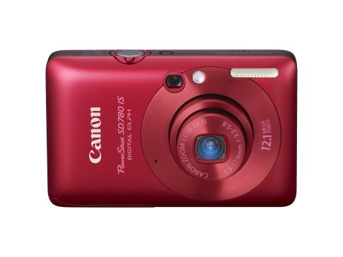 Canon PowerShot SD780IS 12.1 MP Digital Camera with 3x Optical Image Stabilized Zoom and 2.5-inch LCD (Deep Red):  One of the Powershot Deals
