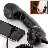 iPhoneの画面を見ながら受話器で電話!ヤブズトークモバイル(ブラック) yubz-0004