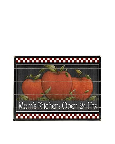 Mom's Kitchen Apples Wood Wall Décor
