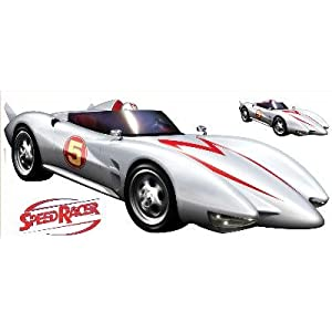 RoomMates RMK1146GM Speed Racer Giant Peel and Stick Wall Decal