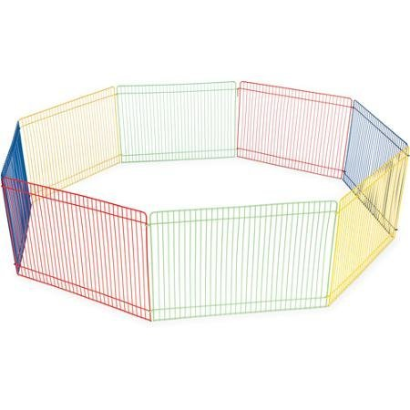 Prevue-Pet-Products-Multi-Color-8-Panel-Small-Animal-Pet-Playpen-WLM