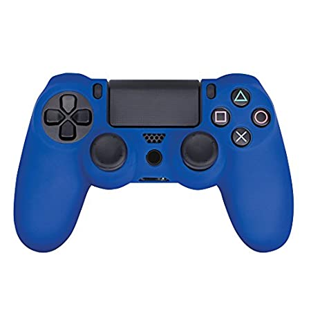 Gripz PS4 Controller Skin Case & Analog Thumb Stick Grips Cap Cover - PlayStation 4