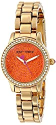 Betsey Johnson Women's BJ00272-12 Crystal-Accented Watch