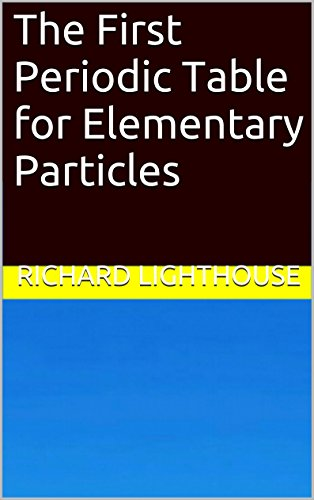 The First Periodic Table for Elementary Particles PDF