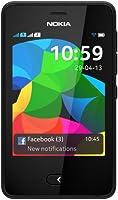 Nokia Asha 501 Smartphone, Dual SIM, 3 Pollici, Fotocamera 3.2 MP, Nero [Italia]
