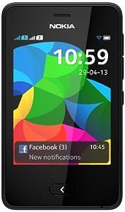 "Asha 501 Dual-SIM schwarz EU-Ware [7,6cm (3"") Display, 3.2 Megapixel"