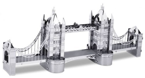 Metallic Nano Puzzle Tower Bridge London TMN-15 Model Kit