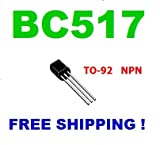 10 pc of BC517 Transistor NPN 30V 0.5A TO-92 - Free Shipping