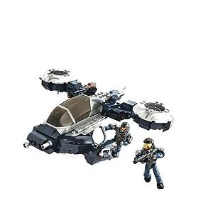 Amazon.com: Mega Bloks Halo Police Hornet Building Set: Toys & Games