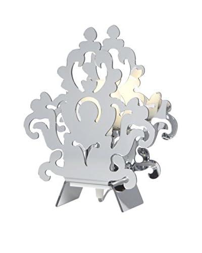 Emporium Lámpara De Mesa Plateado