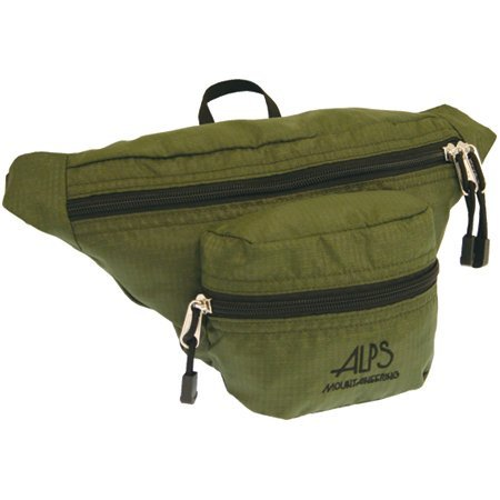 Alps Mountaineering 6Th Avenue Waist Pack- Olive