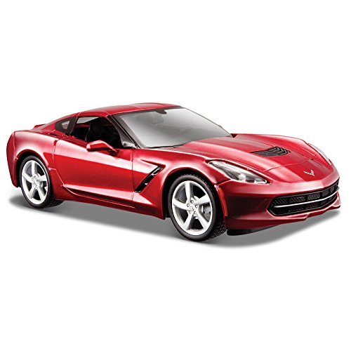 2014 Chevrolet Corvette C7 Coupe Metallic Dark Red 1/24 by Maisto 31505 by 5Star-TD (Chevrolet Corvette Model compare prices)