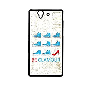 Vibhar printed case back cover for Sony Xperia Z BeGlam