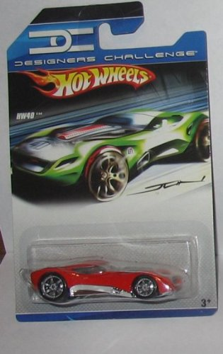 Hot Wheels - Designers Challenge - Red HW40 - Jun Imai - 1