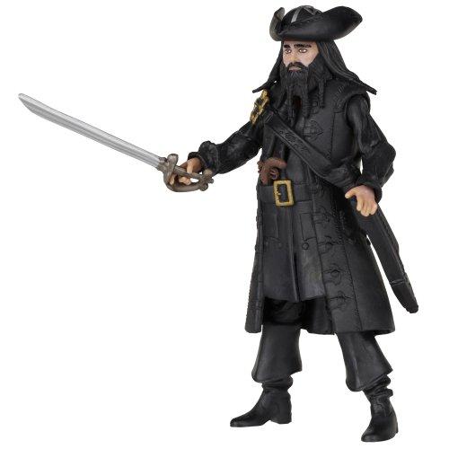 Pirates Of The Caribbean Basic Figure Wave #2 Blackbeard V2 - 1