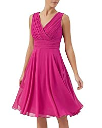 Lurap Woman's Lara Dress Pink - Regular & Plus Size