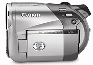 Canon DC50 5MP DVD Camcorder with 10x Optical Image Stabilized Zoom