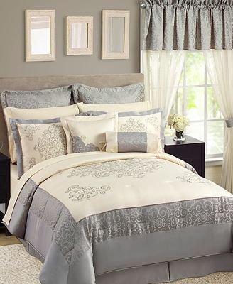 Sunham Fresco 24 Piece Queen Comforter Set Room In A Bag front-436680