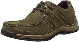 Woodland Mens Leather Sneakers B00KA3C1N6
