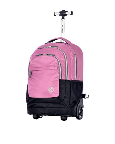 Olympia Gen-X 19 Rolling Backpack, Pink