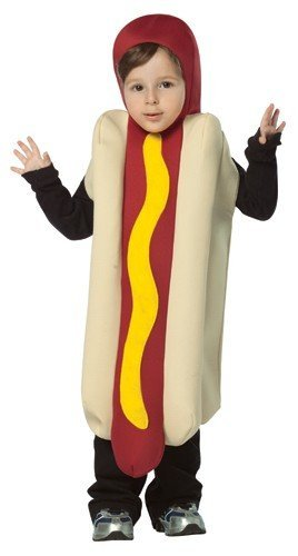 Rasta Imposta Hot Dog Childrens Costume, 4-6 (Dog Costumes For Kids)