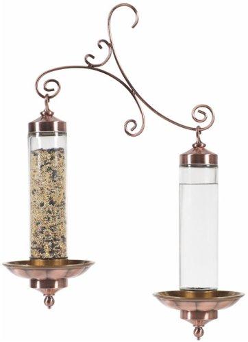 Perky-Pet 389 Copper Sip and Seed Wild Bird Feeder