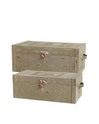 Set of 2 Latched Trunks