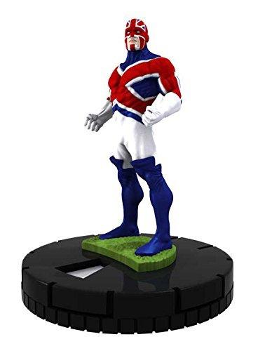 Marvel Heroclix Excalibur OP Kit #M-023 Captain Britain Figure Complete with Card - 1