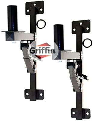 2 Pro-Audio Wall Mount Bracket Speaker Holders Stands PA DJ Mountable Brackets Griffin from Griffin